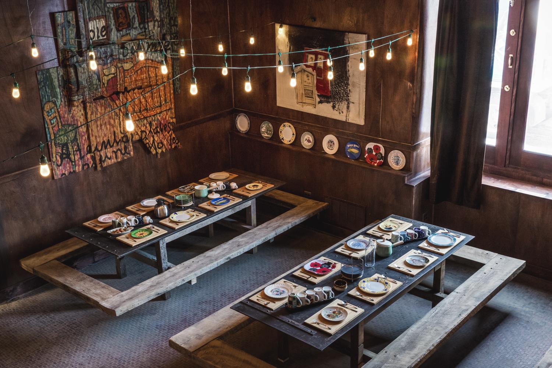 Original mesa comunal