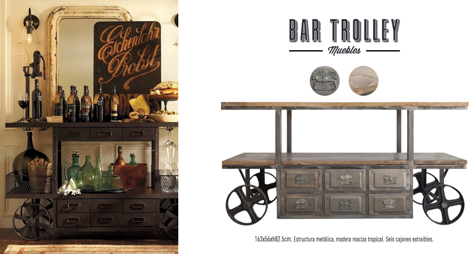 Carro Bar Trolley