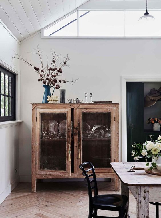 vitrina armario madera decoración singular market