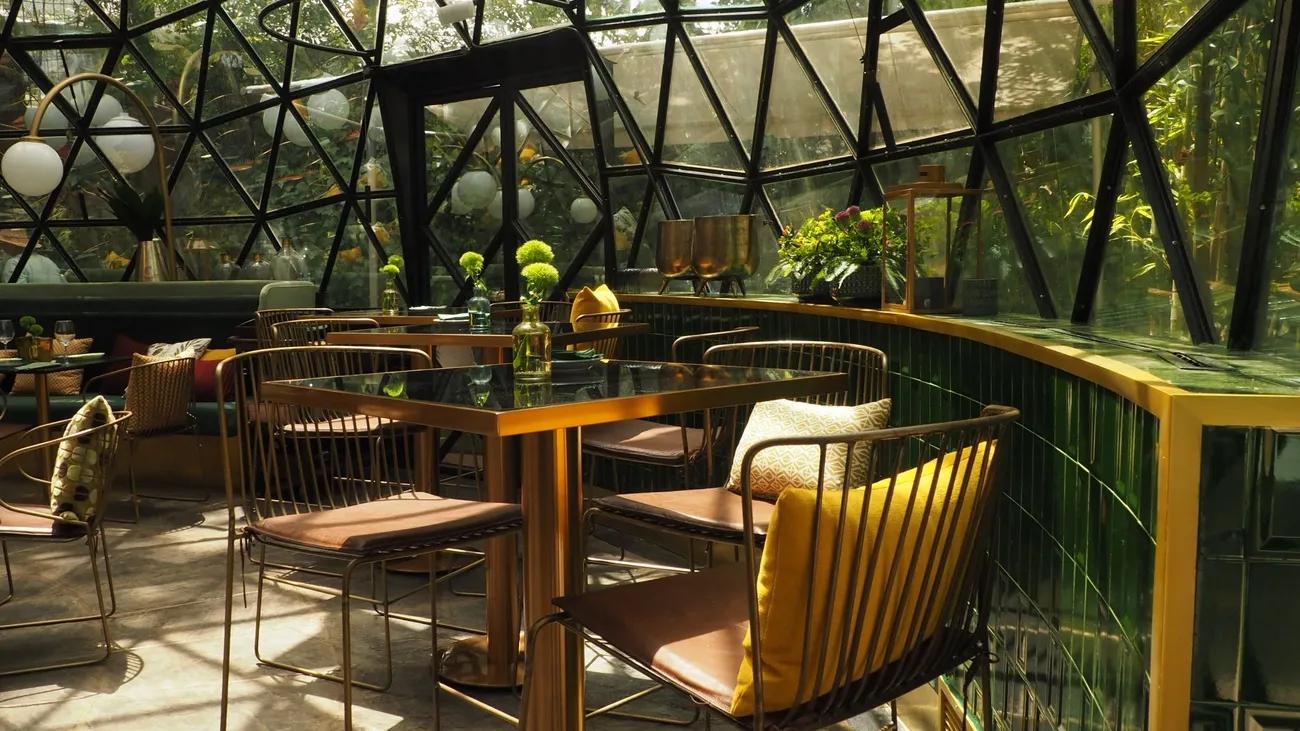 Mobiliario Singular Market Restaurante