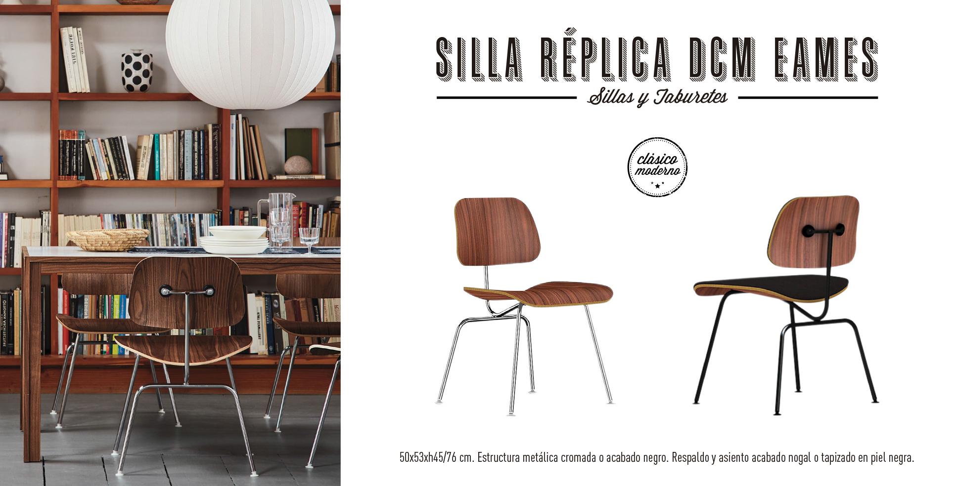 Silla Réplica DCM Eames