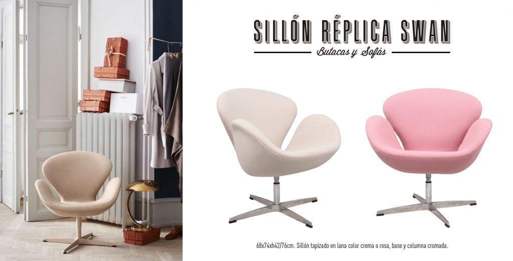 Sillón Réplica Swan Singular Market