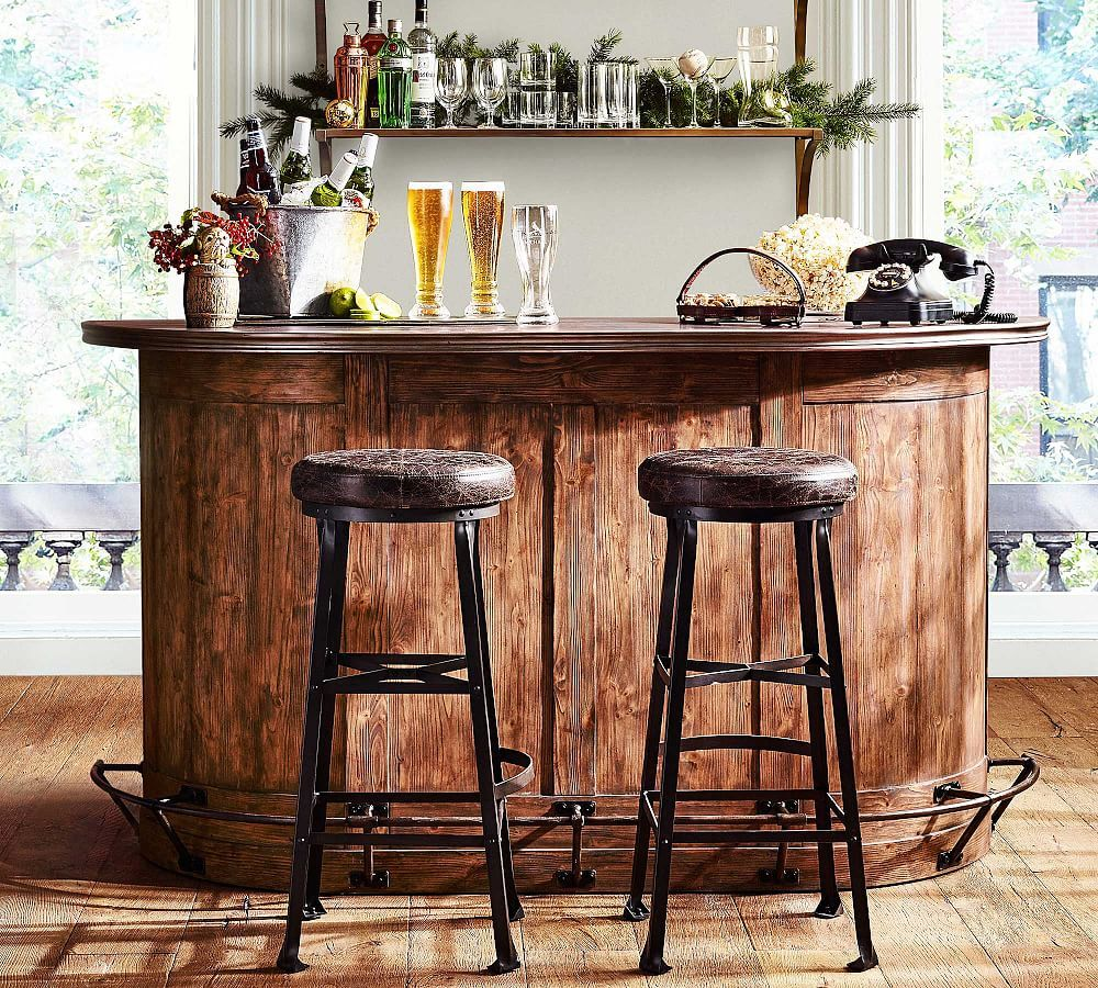 barra de bar en casa