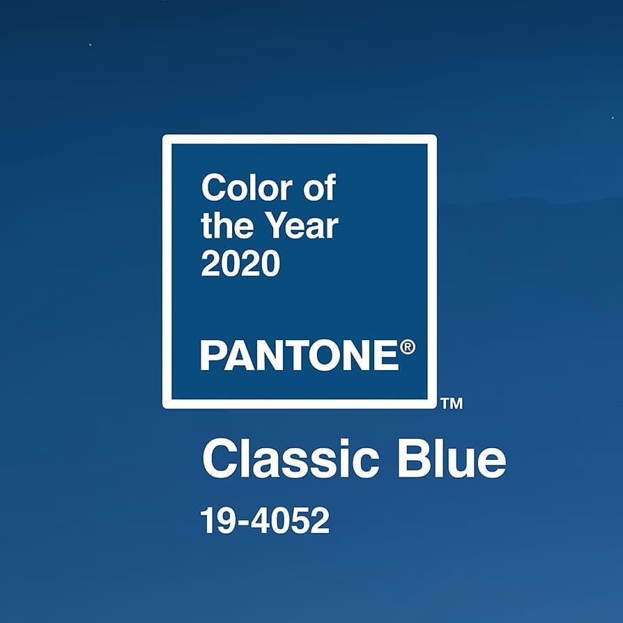 classic blue pantone singular market