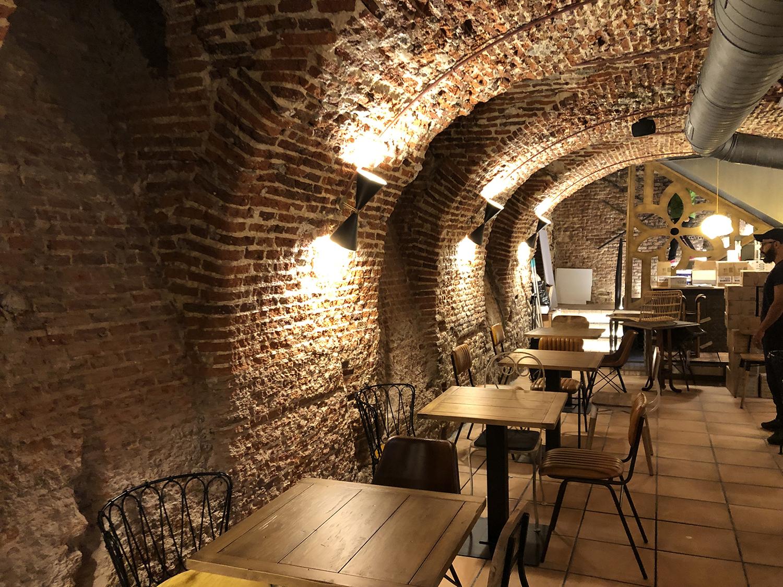 Decoración interiores Singular Market Bresca Hostelería Madrid