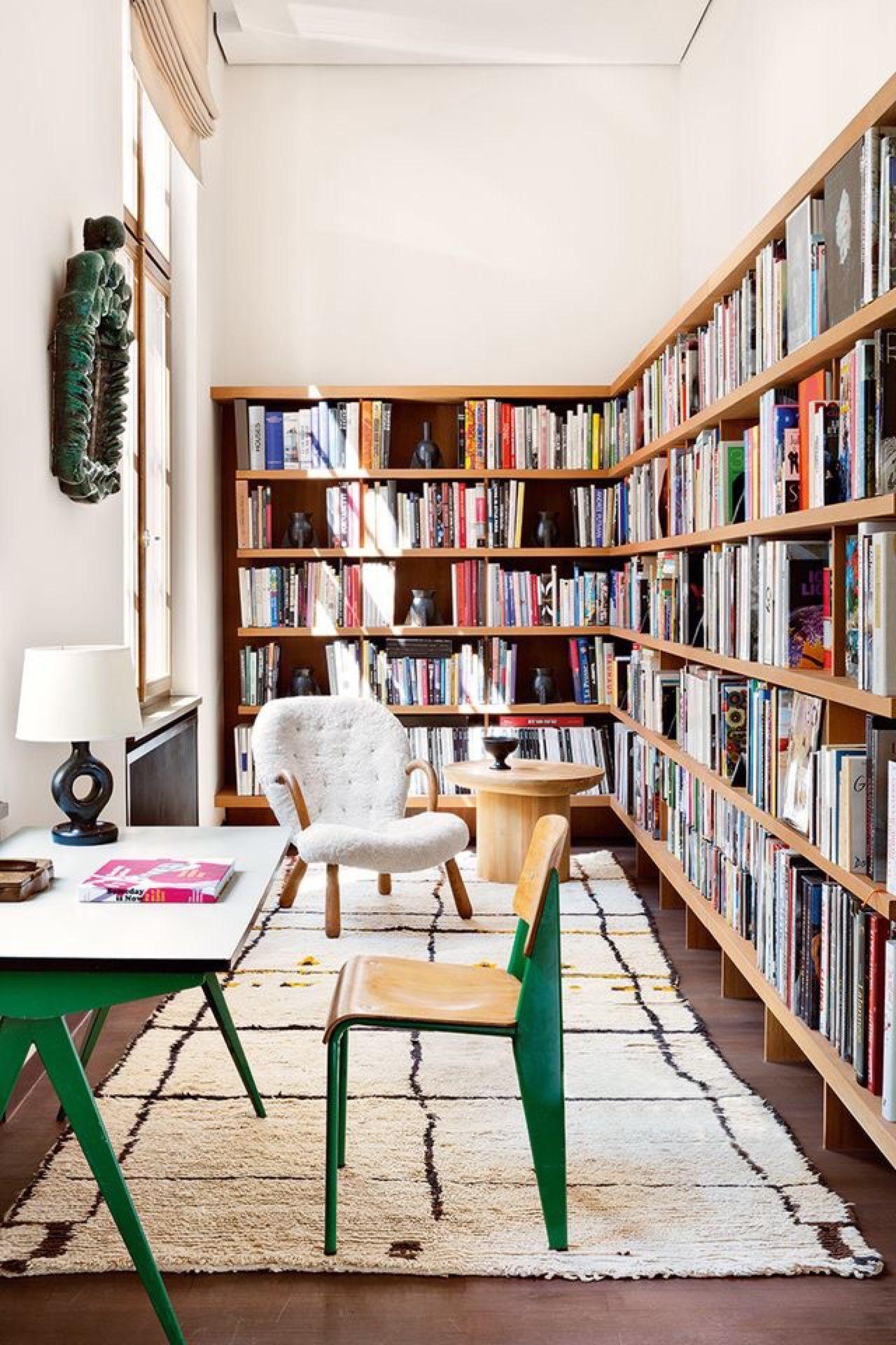 Zona de lectura en casa Singular Market
