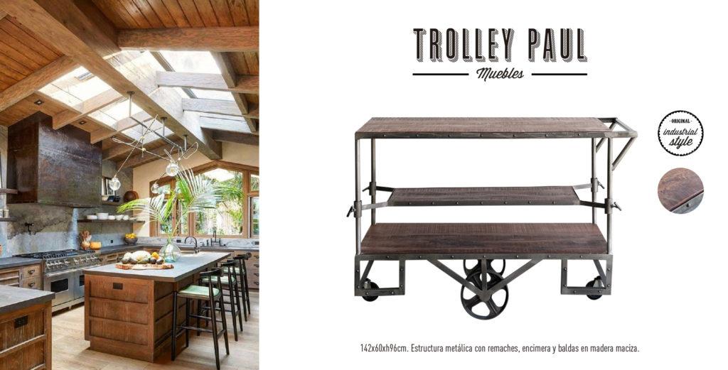 Trolley Camarera Paul Singular Market