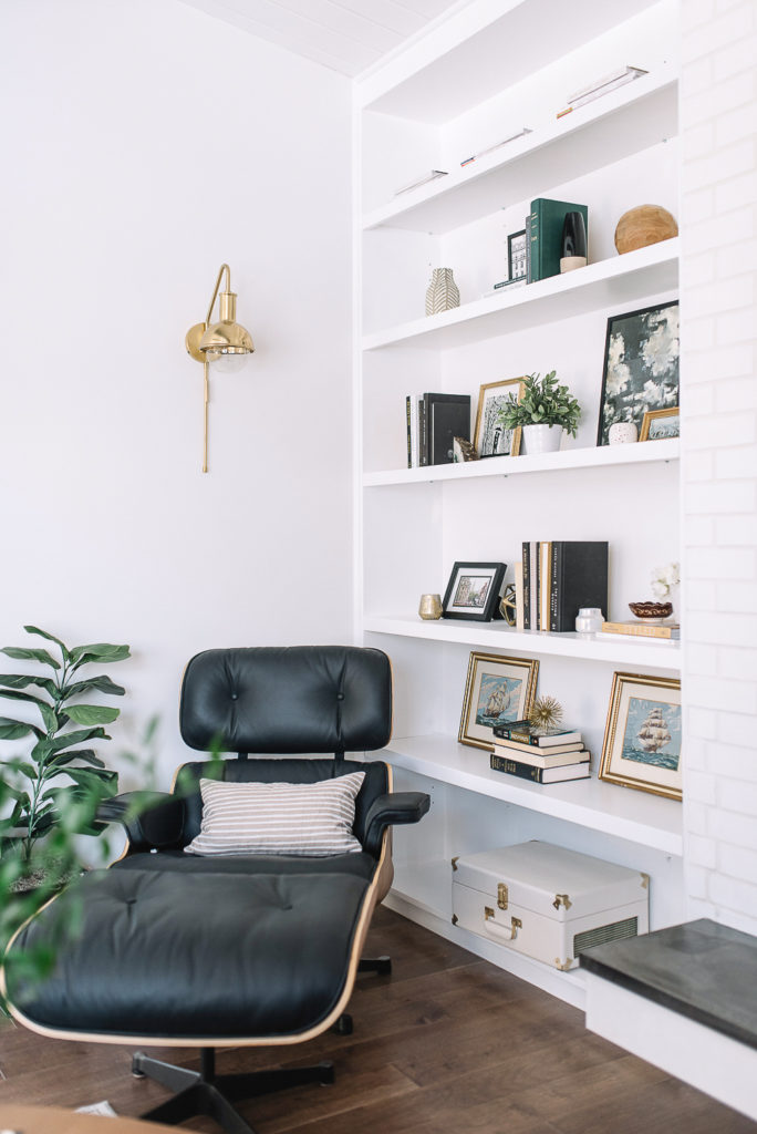 Butaca Relax con Ottoman Lounge Chair Singular Market