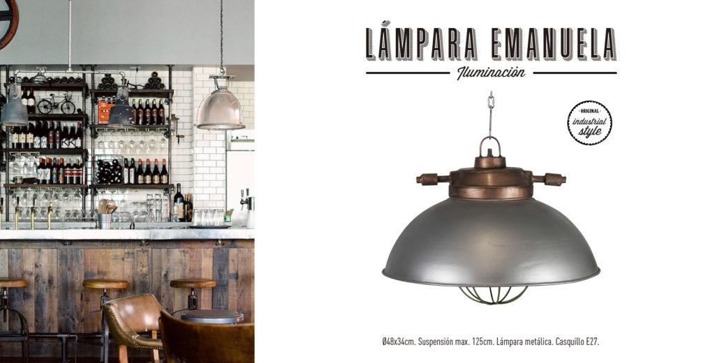 Lámpara Emanuela Singular Market