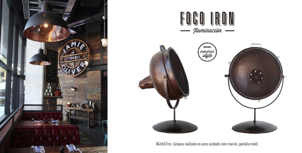 Foco Iron Singular Market