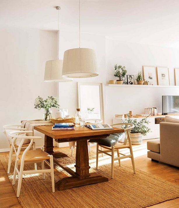 mesa comedor con sillas de comedor lyon