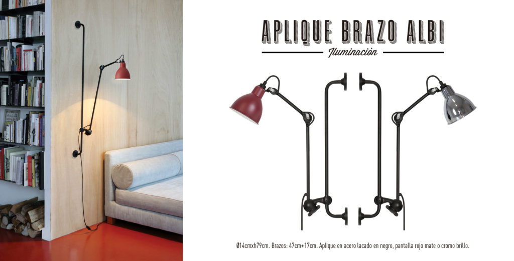 Aplique Brazo Albi