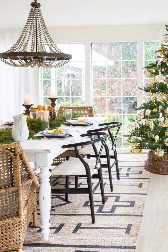 Mesas Sillas Comedor Navidad Singular Market