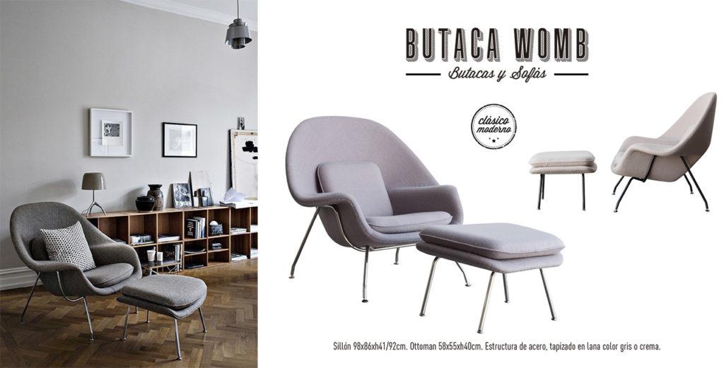 Butaca Womb Singular Market