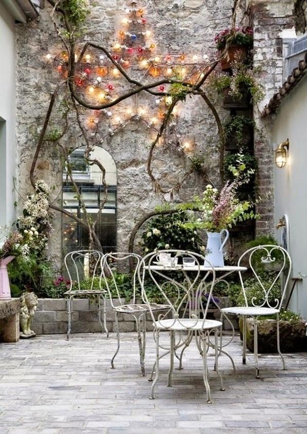 Muebles de forja para decoración y mobiliario provenzal
