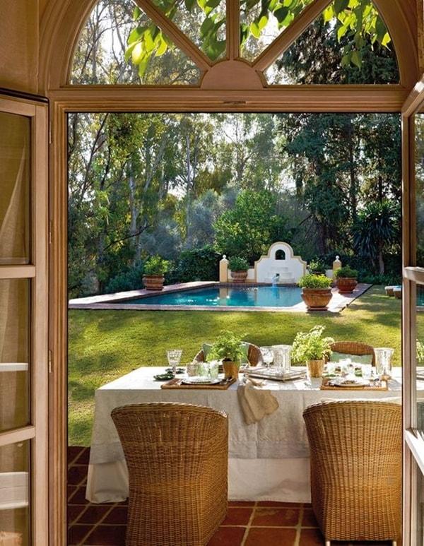 Jardín de estilo provenzal