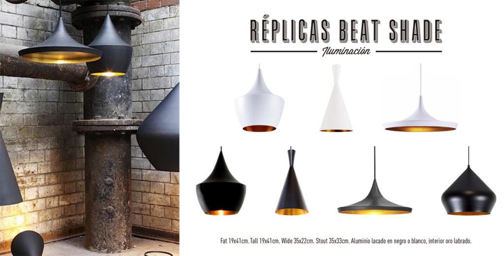 Réplicas Lámparas Beat Shade