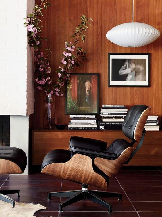 Mobiliario Estilo Mid Century de diseño.