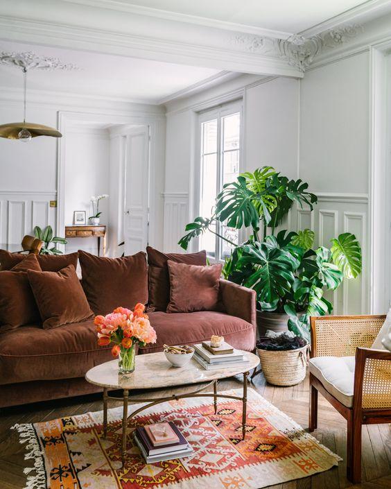 Apartamento con decoración parisina