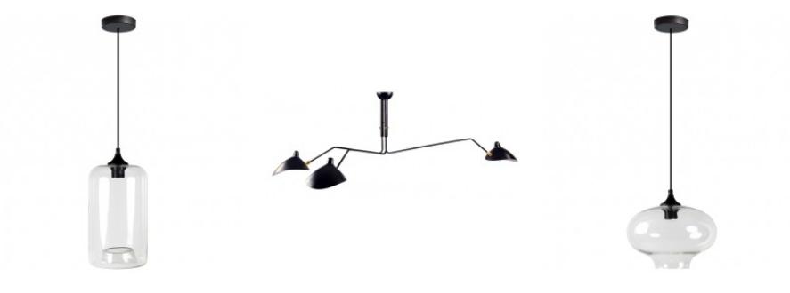 lámparas de techo originales para el comedor